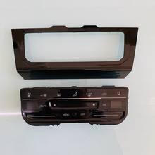 Panneau de climatisation automatique à écran tactile LCD, interrupteur pour Jetta MK7 2019 Tiguan MK2 MQB superb Passat B8