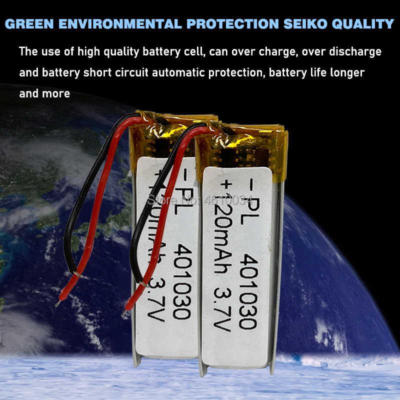 3.7V 120mAh 30*10*4mm 401030 lityum iyon ı ı ı ı ı ı ı ı ı ı ı ı ı ı ı ı ı ı ı ı iyon pil MP3 MP4 MP5 DVD oyuncak mobil bluetooth kulaklık lipo şarj edilebilir pil