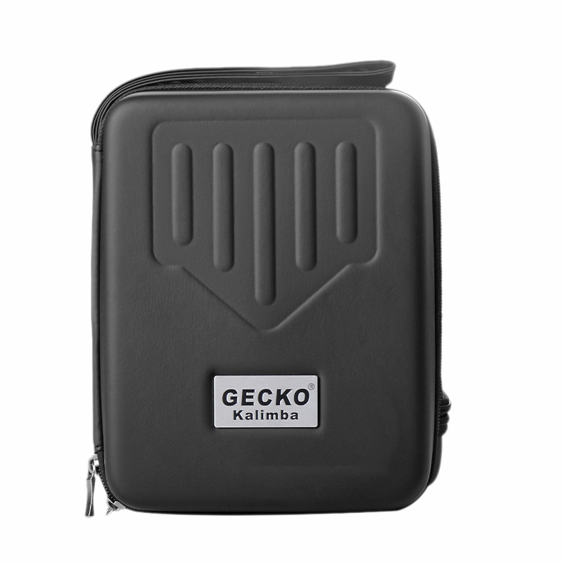 Gecko Thumb Piano Case, Water-Resistant Thumb Piano Case Storage Bag For 17 Keys Kalimba