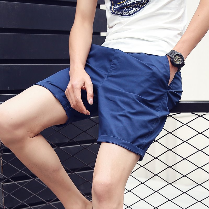Summer Short Shorts Nan Xiu Body Leg Shorts Teenager Cultivating And 5 Points Beach Shorts Hot Weather Pure White Large Trunks 6