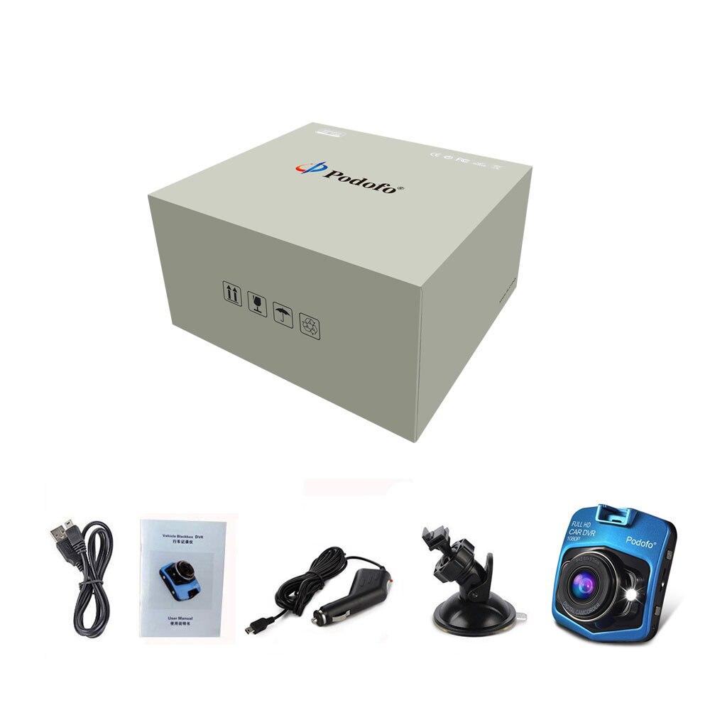Image 5 - Podofo Newest Mini DVRs Car DVR GT300 Camera Camcorder 1080P Full HD Video registrator Parking Recorder Loop Recording Dash Cam-in DVR/Dash Camera from Automobiles & Motorcycles