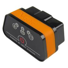 Vgate iCar2 ELM327 بلوتوث OBD2 سيارة ماسح ضوئي تشخيصي صغير الدردار 327 iCar 2 BT OBD 2 السيارات رمز القارئ OBDII أدوات التشخيص
