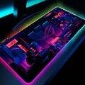 Stadt Asus Rog Pc Zubehör Rgb Led Maus Pad Gaming Spielen Matten Gaming Setup Mesa Gamer Backlit Matte Republik gamer Maus Matte