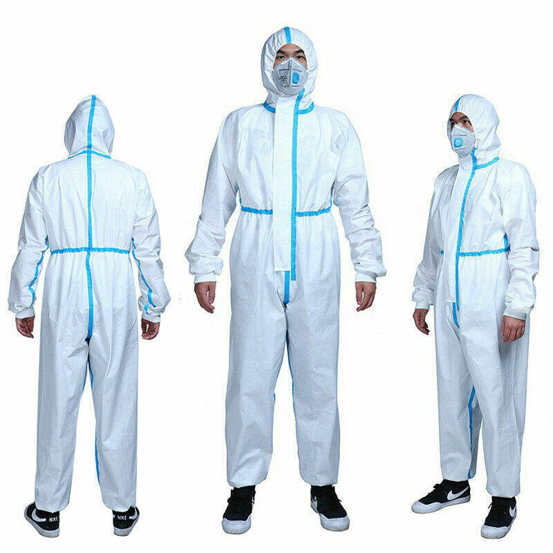 Reusable Protection Gown Non-woven Protective Isolation Clothing For Home Outdoor Cycling Anti-fog Anti-particle Suit
