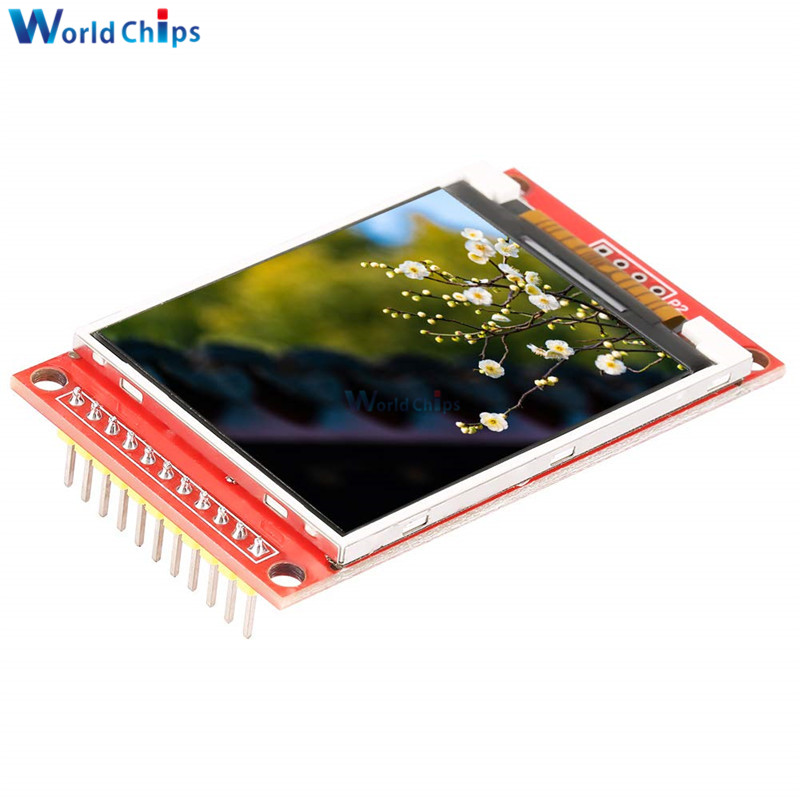 2.0 Inch 176 * 220 ILI9225 TFT LCD Display Module SPI Serial Port Interface Module Minimum Occupancy 3.3V 5V  4 IO