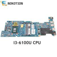 001 NOKOTION 827822 601 827822 827822 501 para HP Pavilion X360 i3 6100U 13 S Laptop Motherboard CPU 448.05H02.0021 448.05H03.001|Placa-mãe para notebook| |  -