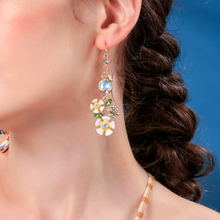 Summer Earrings Ins Temperament Fashion Ladies Flower Models Small Fresh