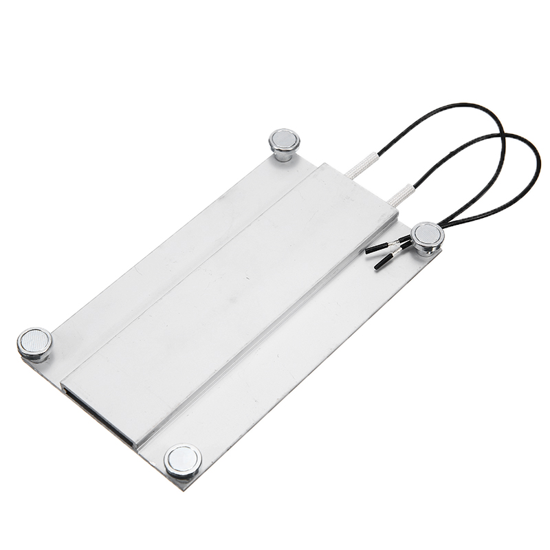 New AC 220V Aluminum LED Remover PTC Heating Plate Soldering Chip Remove Weld BGA Solder Ball Station Split Plate