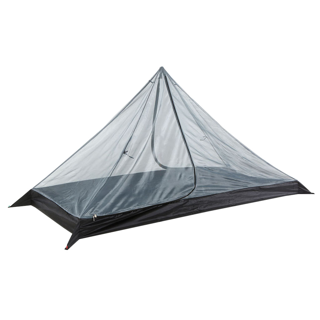Tent Inner Mesh for Men Women 3 Seaons Single Person Pyramid Tent, Trekking Pole Tent, Easy Set-up