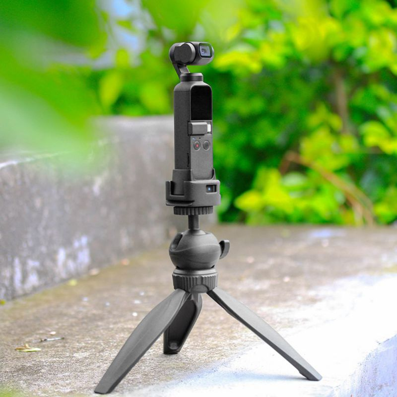 Купить с кэшбэком Anti-fall ULANZI Op-4 WiFi Base Tripod Adapter Suitable For DJI OSMO POCKET Camera Stabilizer