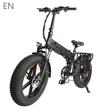 Electric bike 48V12.8A 20*4.0 Fat Tire electric Bicycle 750W 45KM/H Powerful Mountain ebike Snow Bike 8 Speeds Full throttle