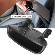 Car Armrest Cover Lid Lock Center Console Latch Fit For Honda Civic 2006-2011 Car Replacement Part Accessories New Black стоимость