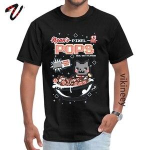 Nyans Pixel Pops Классическая Повседневная футболка с круглым вырезом для влюбленных, футболки с рукавами Nirvana для мужчин, толстовки с принтом
