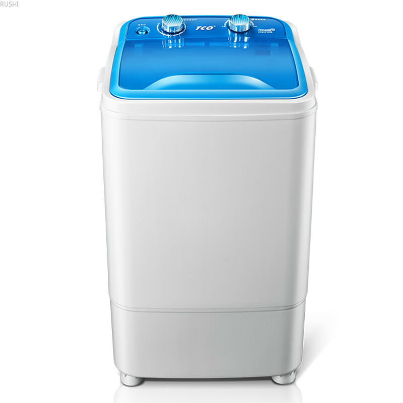 220V /50HZ 6 Kg Single Barrel Portable Washing Machine  Mini Washing Machine Large Capacity Small Baby Family Dormitory Rental