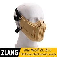 Schwarz Sand Farbe Grau Grau GreenSoft Abnehmbare Atmungs Halbe Gesicht Maske Stoßfest Mund Protector Sport Zubehör