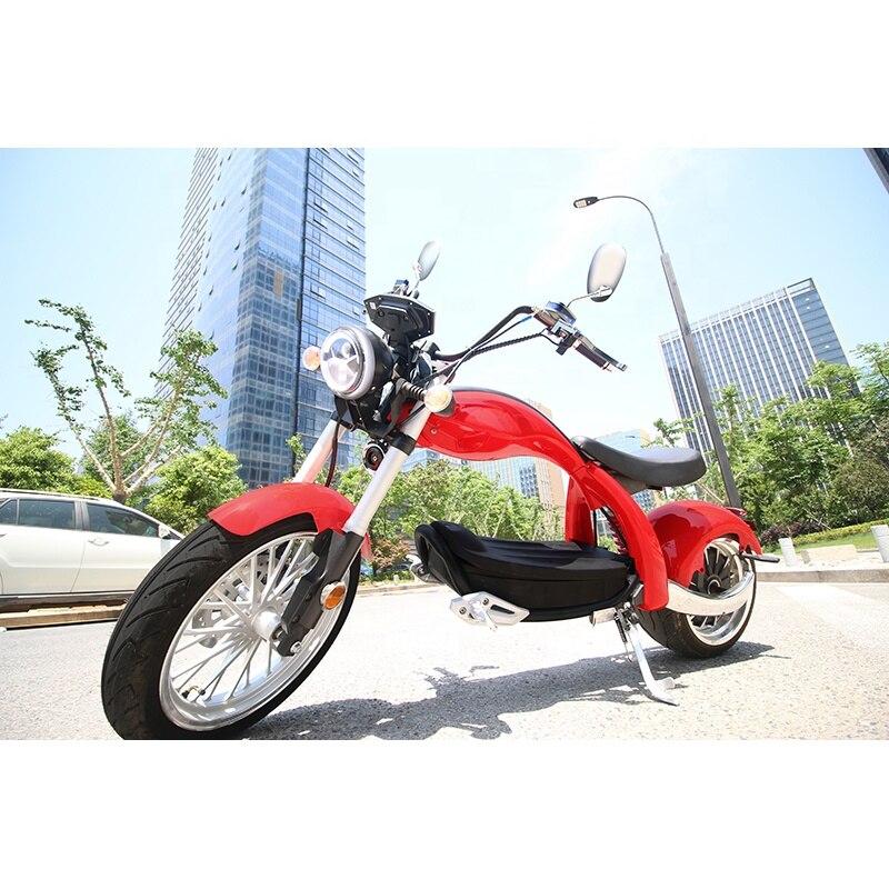 12 дюймов с толстыми покрышками EEC/COC большой Мощность 2000W мотоцикл 2-колесный скутер с самобалансировкой