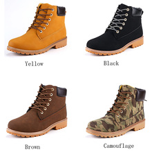 Women Boots Martin boots Men women casual waterproof warm wear-resistant autumn winter unisex 36-46 artificial PU