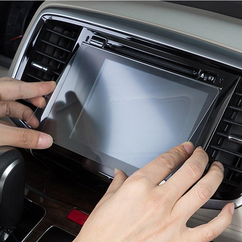 150x90mm Tempered Glass Screen Protctor For Volvo Car GPS Navigation Protective Film car gps DVD Stereo Radio