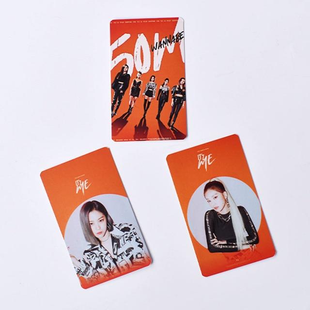 6pcs/set ITZY photocard album cards ITZ ME K-pop ITZY 3