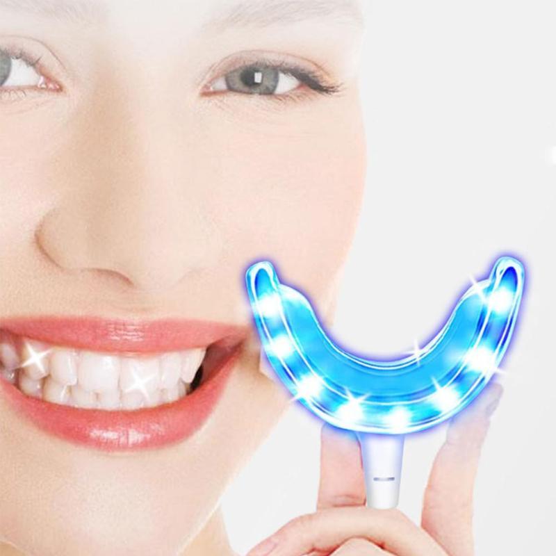 Teeth Whitening Dental Light LED Peroxide Bleaching Accelerator System Oral Gel Tooth Whitener