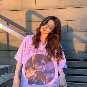 Purple Rain Shirt Women's Clothing & Accessories Tops & Tees T-Shirts cb5feb1b7314637725a2e7: Pink