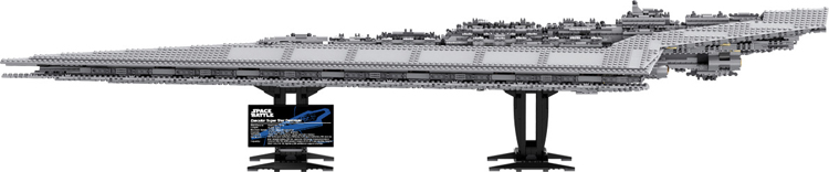 Super Star Destroyer Moc 15881 Blocks Wars Executor class Star Dreadnought Ship Technic Star Wars 10221 10030 Toys Gift Bricks compatible lego 31