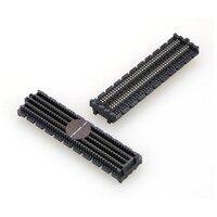 1.27mm VITA 57.1 HPC BTB 400p FMC connector ASP 134486 01 Female CONN RCPT FMC HPC ASP 134488 01 male