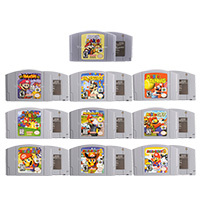 Картриджи для видеоигр 64 бит, игровая консоль серии Mari, английская версия US для Nintendo