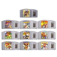 64ビットビデオゲームカートリッジゲームコンソールカードマリシリーズ英語us版任天堂