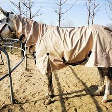 Non-cotton Anti-mosquito Equestrian Equipment Warm Breathable Horsecloth Caparison