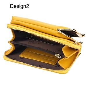 Image 5 - Neue Bunte Kleine Handy Tasche Weibliche Mode Täglichen Gebrauch Schulter Taschen Frauen Leder Mini Umhängetasche Messenger Tasche Damen Geldbörse