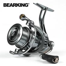 BEARKING Brand Zeus series 9BB Stainless steel bearing 5.2:1 Fishing Reel Drag System 7Kg Max Power Spinning Wheel Fishing Coil