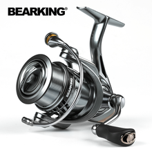 BEARKING Brand Zeus series 9BB Stainless steel bearing 5.2:1 Fishing Reel Drag System 7Kg Max Power Spinning Wheel Fishing Coil