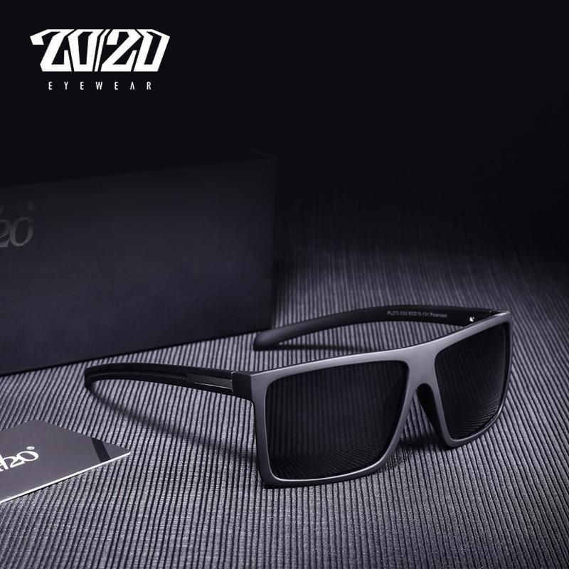 PL207 Ideal for Driving Men/'s Fashion Polarised Black Sunglasses