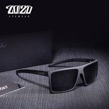 20/20 Brand Design Classic Black Polarized Sunglasses Men Dr
