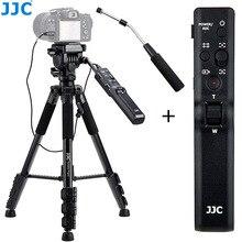 JJC וידאו שלט רחוק חצובה עבור Sony FDR AX100 AX700 AX30 AX33 AX53 AXP35 HDR CX675 CX455 CX440 CX405 CX230 CX900 למצלמות