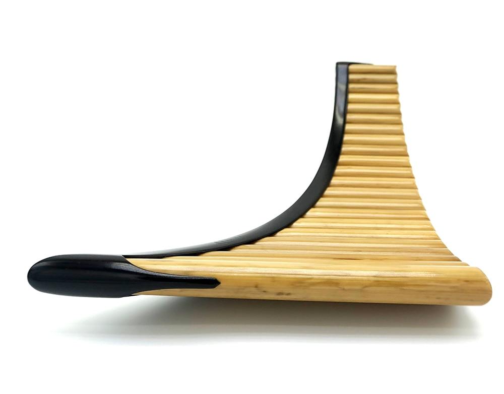 e panflute de bambu artesanal processo padrão