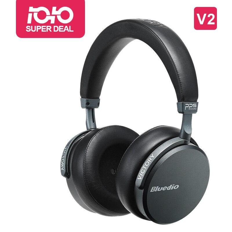 Bluedio V2 Bluetooth kopfhörer Wireless headset PPS12 treiber mit mikrofon high end kopfhörer für telefon und musik-in Handy-Ohrhörer und Kopfhörer aus Verbraucherelektronik bei AliExpress - 11.11_Doppel-11Tag der Singles 1