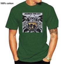 Maglietta del progettista di parkking maglietta corta da uomo O collo corta maglietta di moda magliette sottili da uomo Lizzy Jailbreak (1)