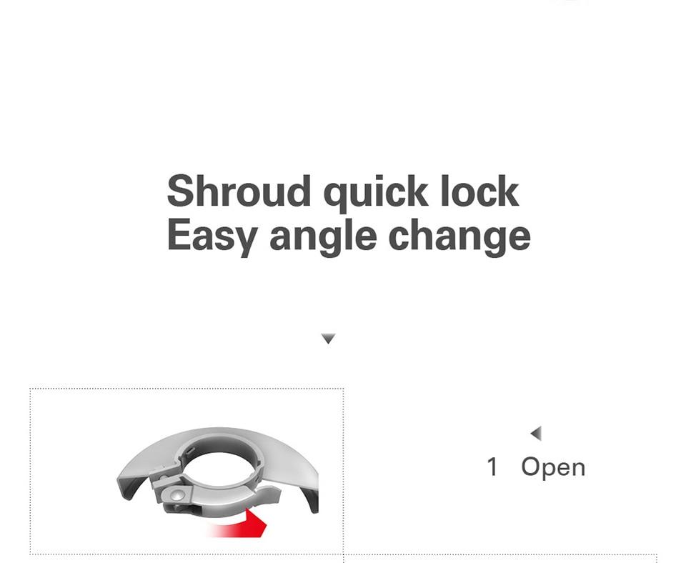 Shroud quick lock