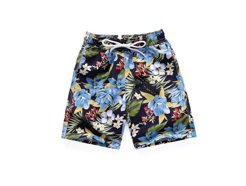 Summer Boy Shorts Beach Swimming Shorts Fast Dry Baby Boys Shorts Children Kids Pants Swimwear Trunk Teenage Plus Size 2