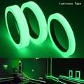 Светящаяся лента 1,5 см * 1 м 12 мм 3 м, самоклеящаяся лента, светящаяся в темноте, Предупреждение, ленты для украшения дома на сцене