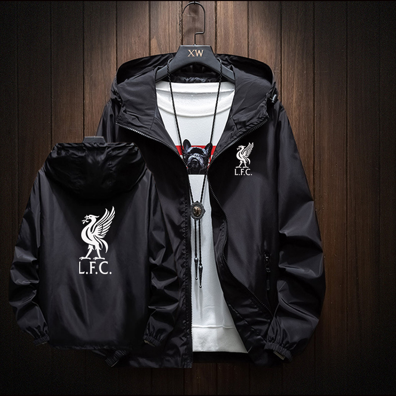 BALLGUA Spring Liverpool Jacket Zipper Casual Men Streetwear Hip Hop Slim Tailored Aviator Jacket Men's Clothes Plus Size M-8XL