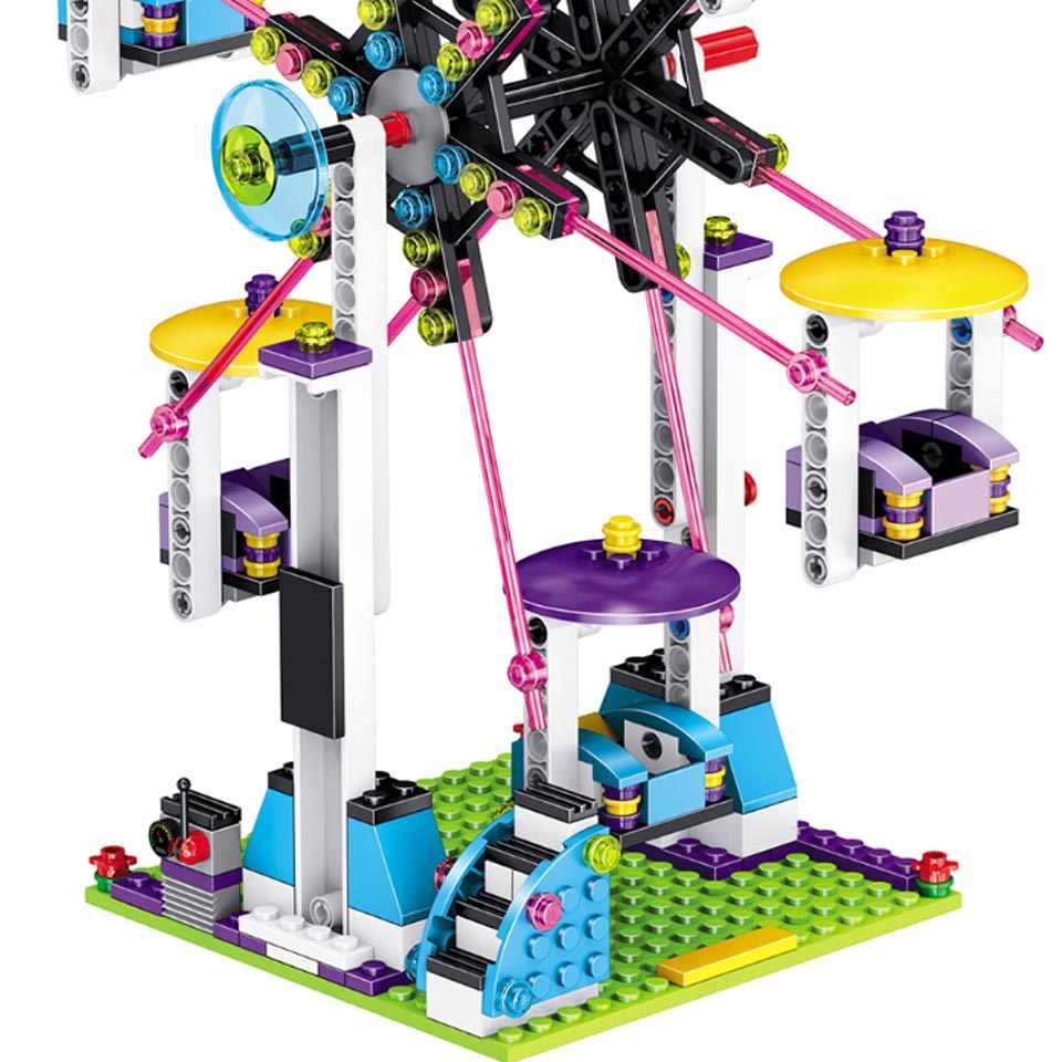 New Heartlake City Park Love Hospital Friends Livi's Pop Star House 41135 Girls Building Blocks Compatible legoinglys toys
