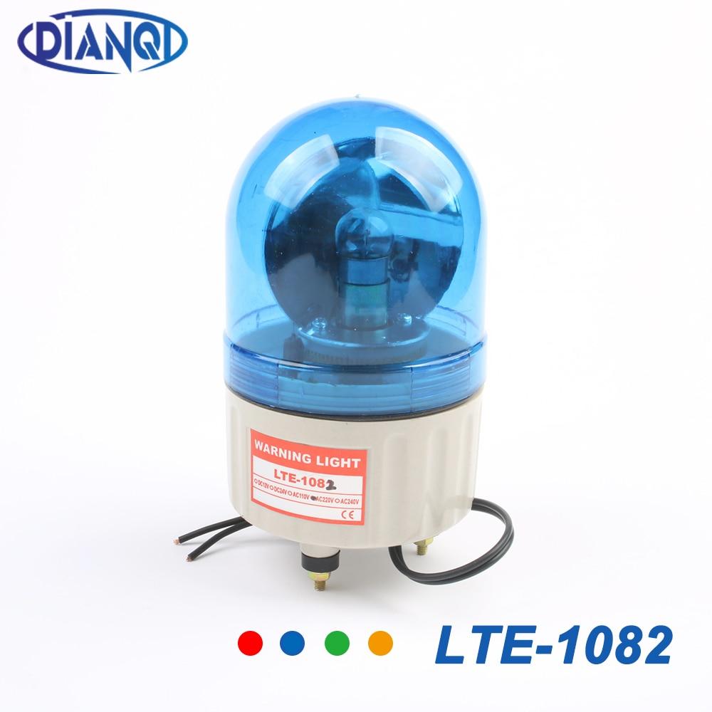 AC 220V LTE-1082 Emergency Warning Lights Revolving Warning Light Without Buzzer