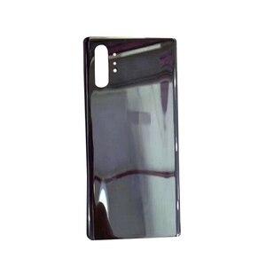 Image 5 - החלפה חזרה מקרה זכוכית סוללה כיסוי לסמסונג גלקסי הערה 10 Note10 + טלפון N9760 N9700 תיקון חלקים