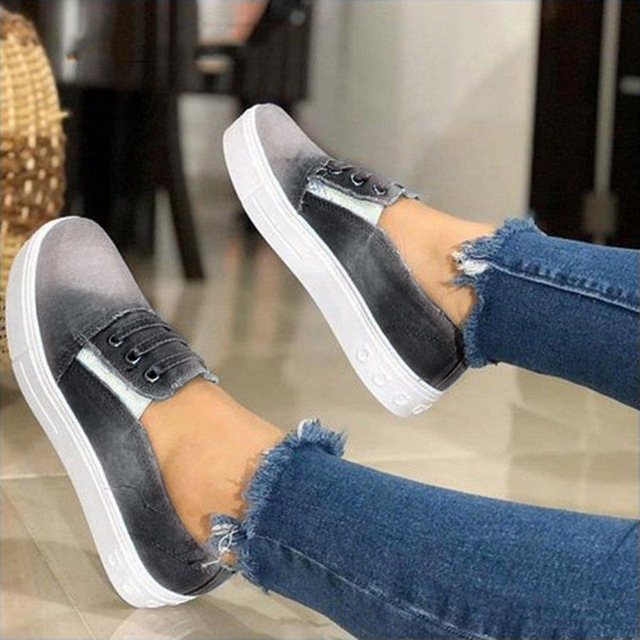 LOOZYKIT Women New Sneakers Autumn Soft Comfortable Casual Shoes  Flats Female Shoes Flats Footwear Dropshipping
