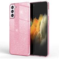 Custodia Glitter Premium per Samsung Galaxy S21 Ultra S20 FE S10 E S9 Plus A51 A71 A52 A72 A50 A70 A21S S8 A40 A31 A20E Cover per telefono