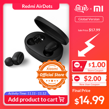 Xiaomi Earphone Handsfree Earbuds Bass-Stereo Bluetooth Airdots Wireless Ai-Control