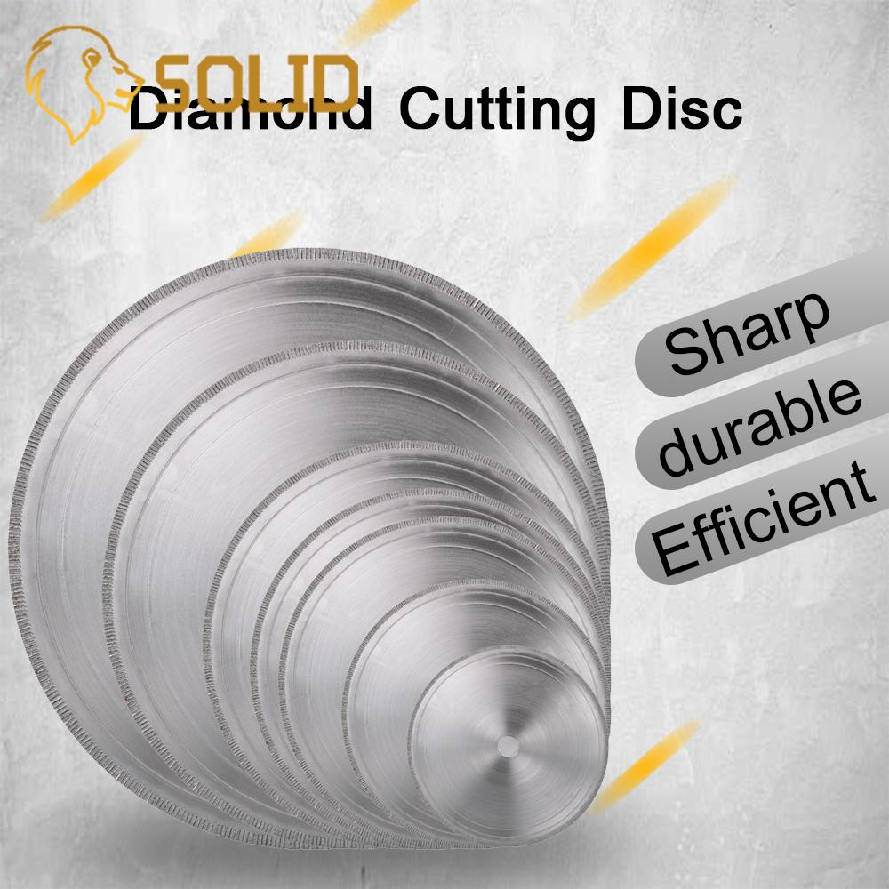 6/7/8/10/12/14 Inch Ultra-thin Diamond Circular Saw Blade Cutting Arbor Disc Cut Jade Discs For Agate Glass Gems Stone Slits 1Pc